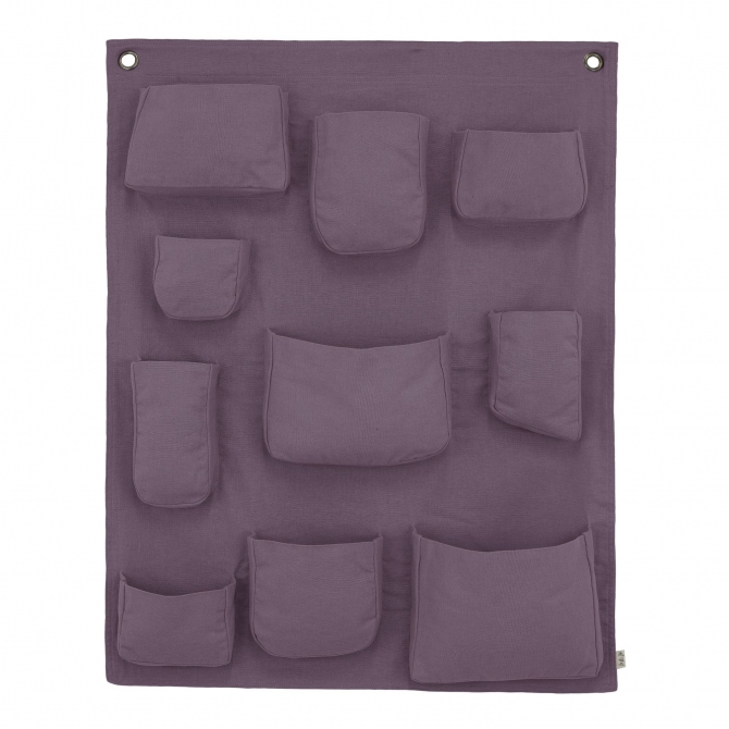 Numero 74 Wall Pocket dusty lilac