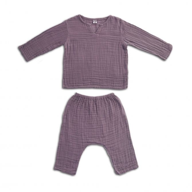 Numero 74 Suit Zac shirt & pants dusty lilac