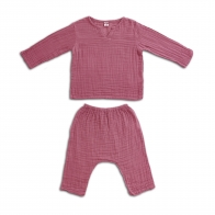 Suit Zac shirt & pants baobab rose