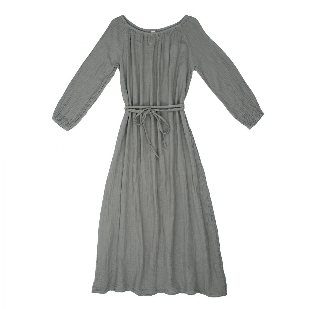Dress for mum Nina long silver grey - Numero 74