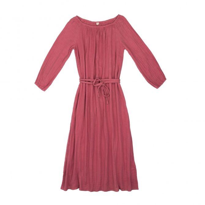 Sukienka dla mamy Nina długa różowa - Numero 74