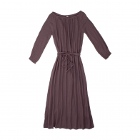 Dress for mum long dusty lilac