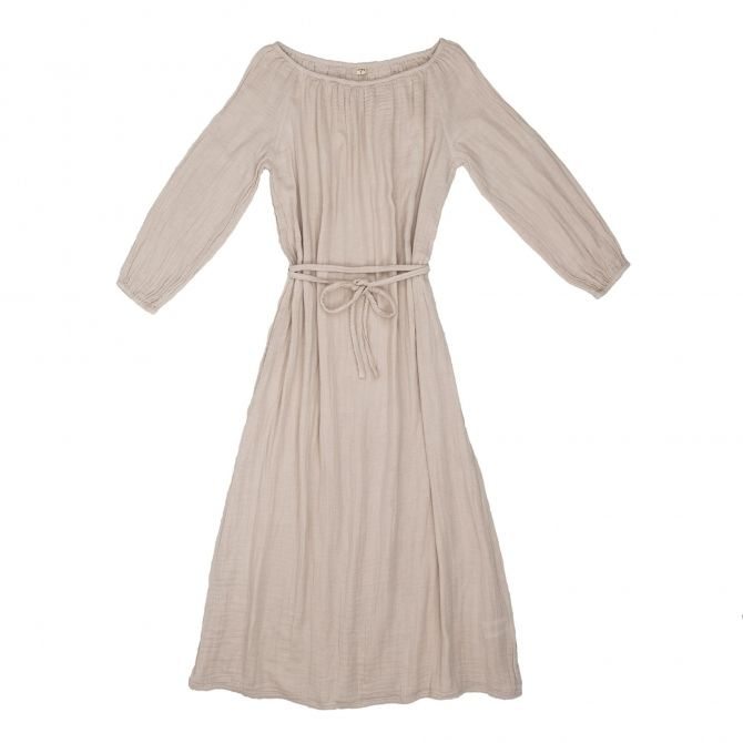 Dress for mum Nina long powder - Numero 74