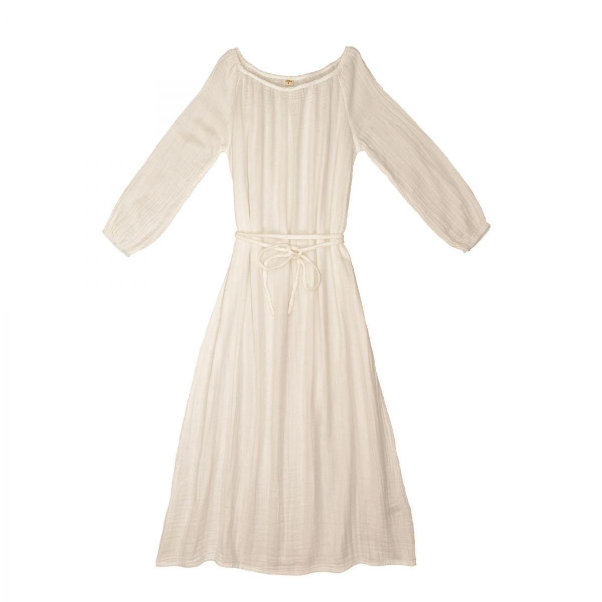 Sukienka dla mamy Nina długa waniliowa - Numero 74