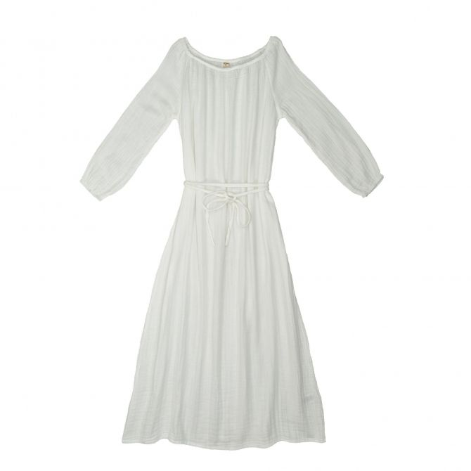 Dress for mum Nina long white - Numero 74