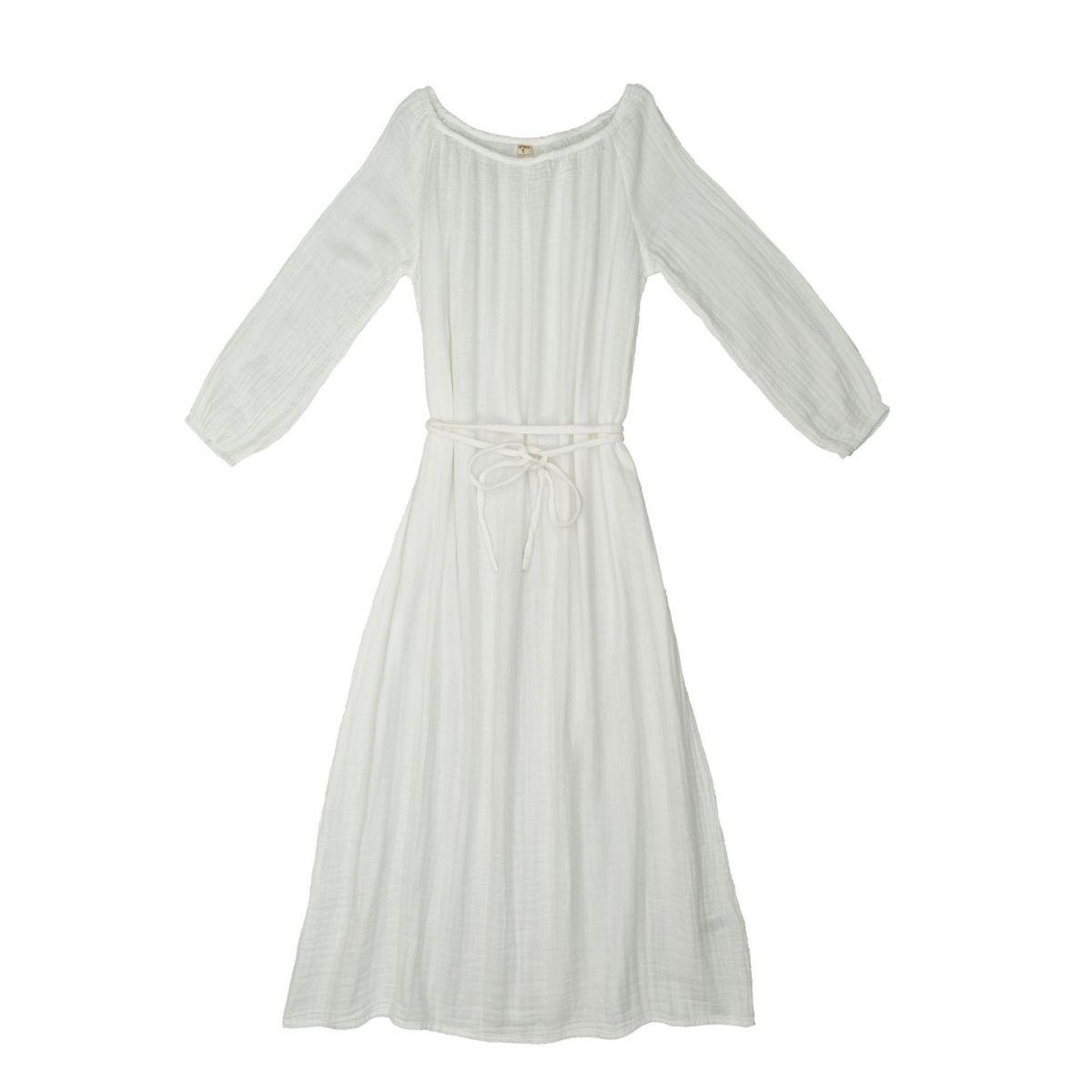 Sukienka dla mamy Nina długa biała - Numero 74