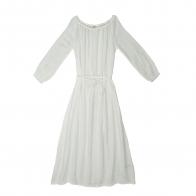 Sukienka dla mamy Nina długa biała