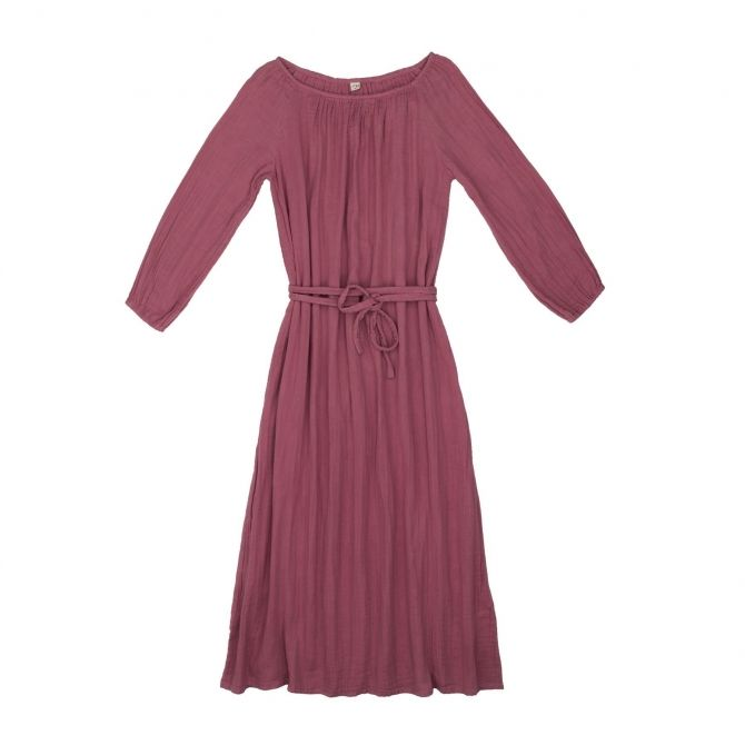 Numero 74 Dress for mum Nina long baobab rose