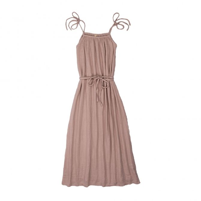 Dress for mum Mia long dusty pink - Numero 74