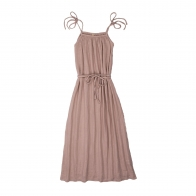 Dress for mum Mia long dusty pink