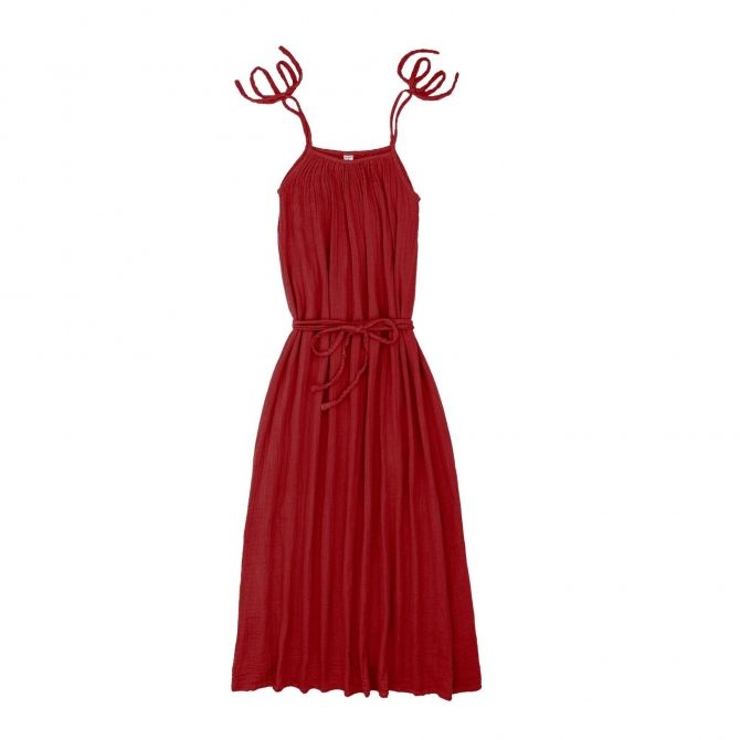 Numero 74 Dress for mum Mia long ruby red