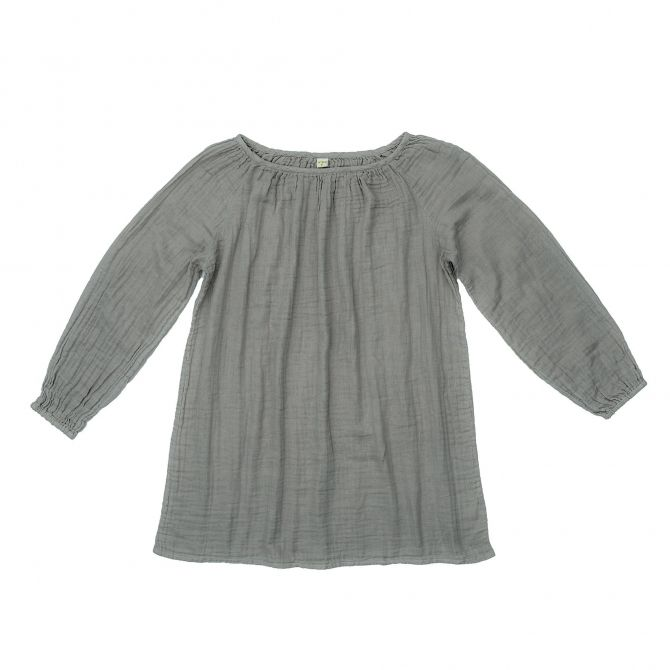 Numero 74 Tunic for mum Nina silver grey