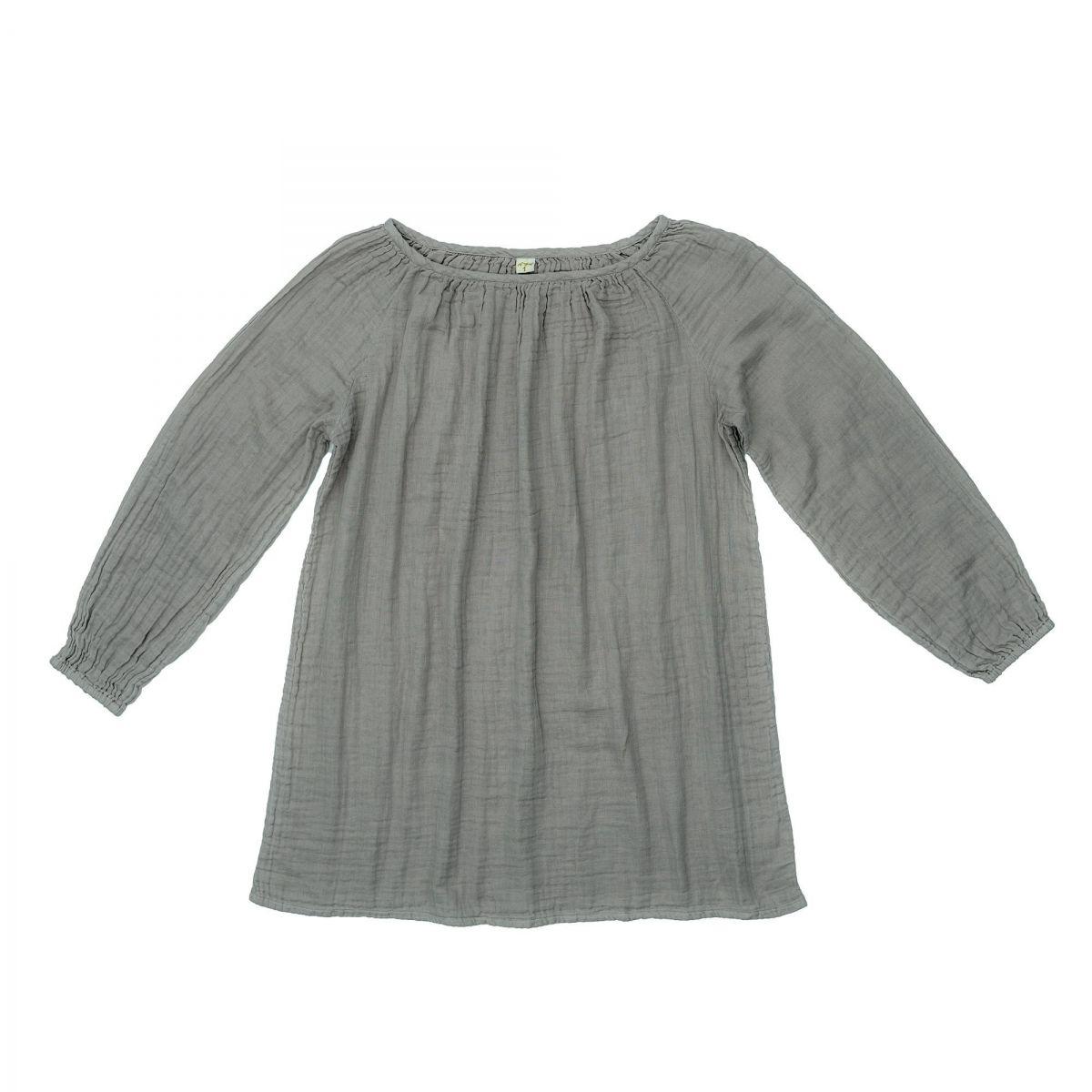 Numero 74 - Tunic for mum Nina silver grey - 1
