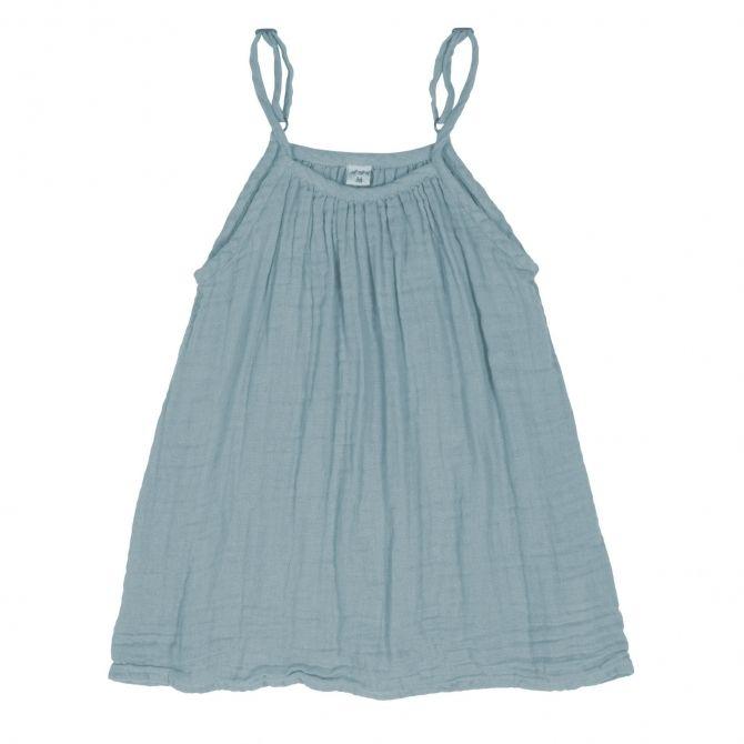 Numero 74 Sukienka Mia zgaszony błękit