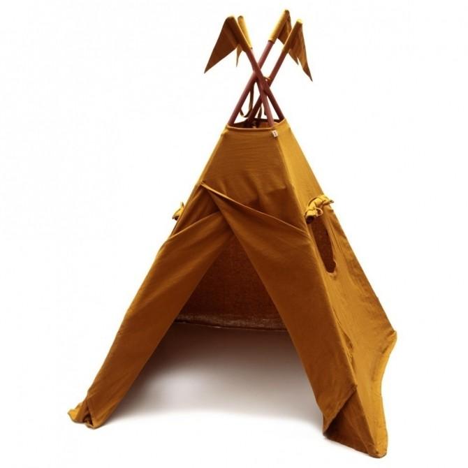 Numero 74 Namiot Tipi musztardowy