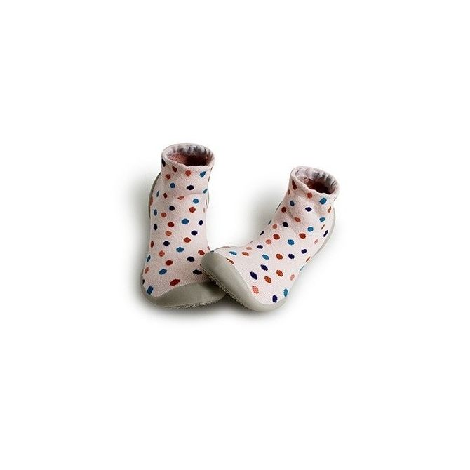Collégien Slipper Socks Sixties dots