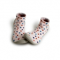 Slipper Socks Sixties dots