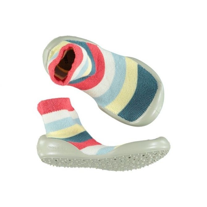 Collégien Slipper Socks Rayas stripes multicolor