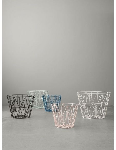 Wire Basket black - Ferm LIVING