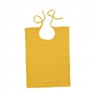 Baby Bib Square sunflower yellow