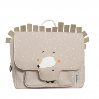 Tornister Mrs. Hedgehog beżowy
