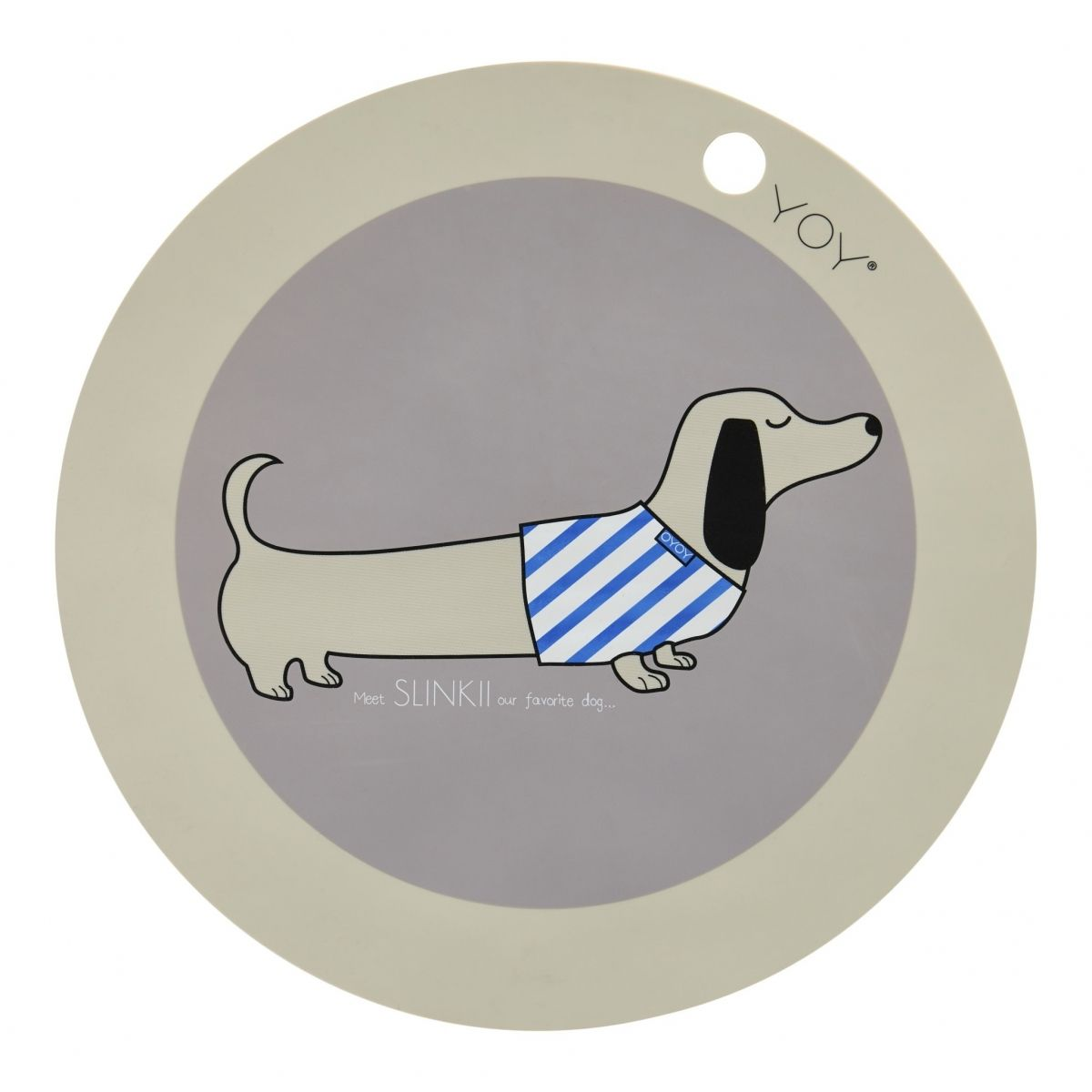 OYOY Placemate Dog Slinkii
