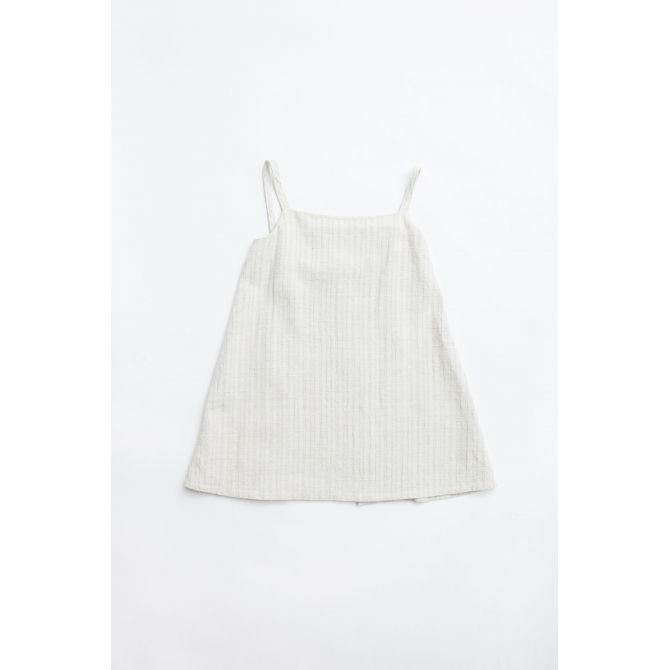 Dress Frano apron sand - Yoli & Otis