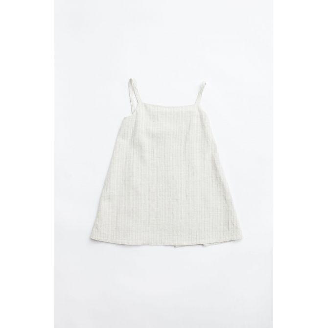 Sukienka Frano apron piaskowa - Yoli & Otis