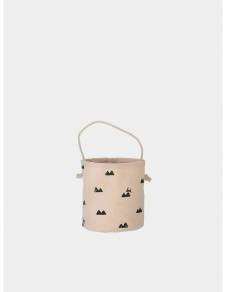 Ferm LIVING Basket Rabbit rose