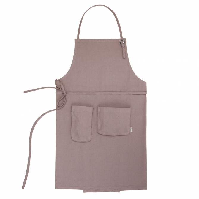 Numero 74 Apron Adult dusty pink