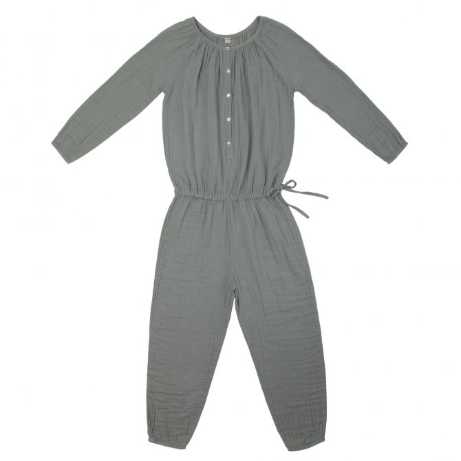Naia Jumpsuit Mum silver grey - Numero 74