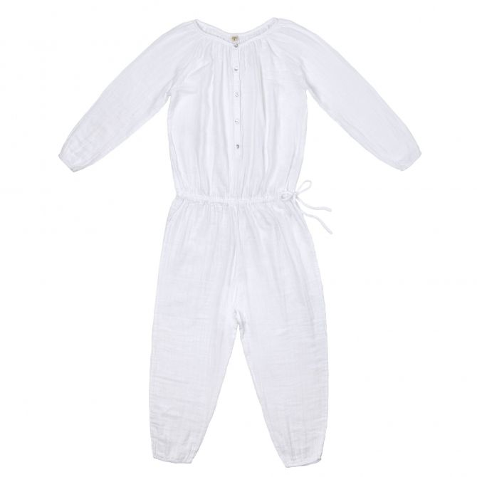 Naia Jumpsuit Mum white - Numero 74