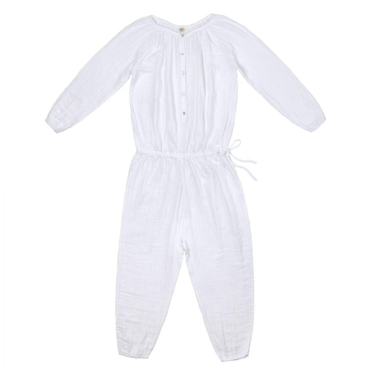 Numero 74 Naia Jumpsuit Mum white