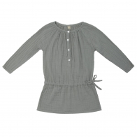 Naia Dress Kid silver grey