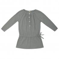 Naia Dress Kid silver grey