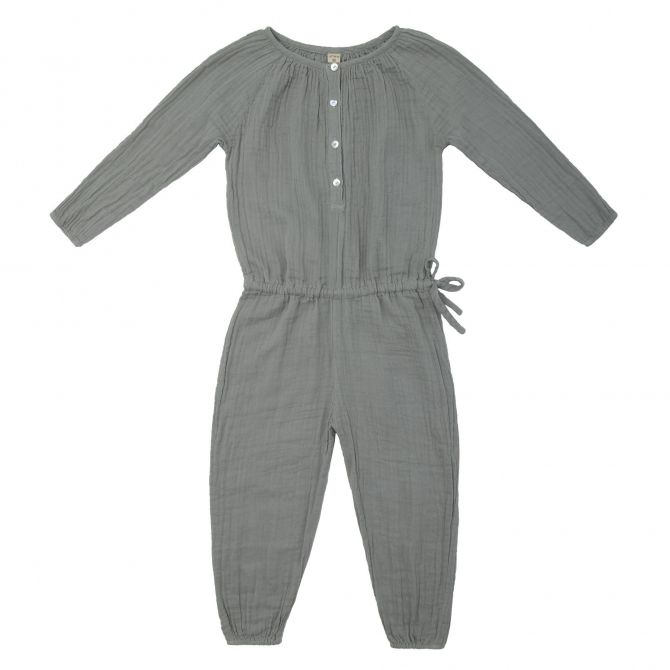 Naia Jumpsuit Kid silver grey - Numero 74