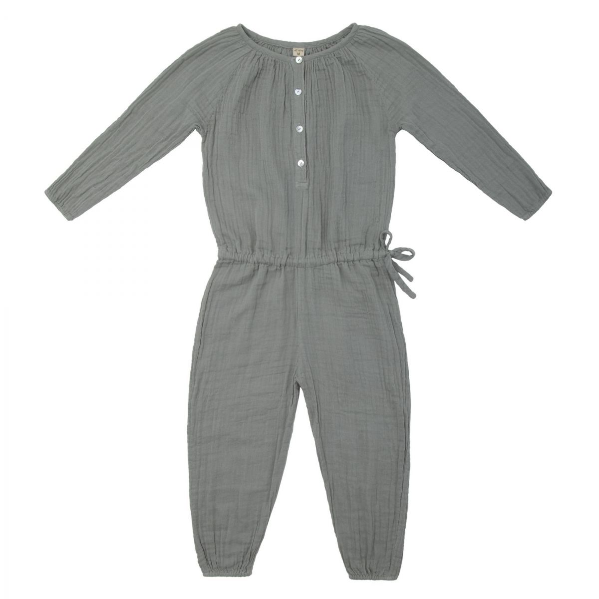 Numero 74 Naia Jumpsuit Kid silver grey