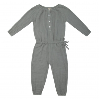 Naia Jumpsuit Kid silver grey