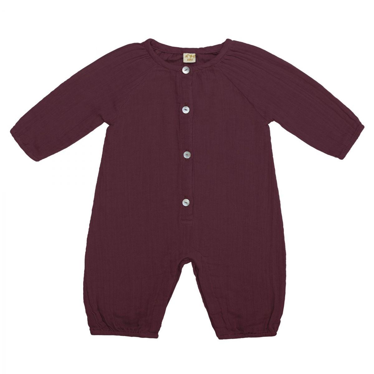 Numero 74 Leni Jumpsuit Baby red macaron
