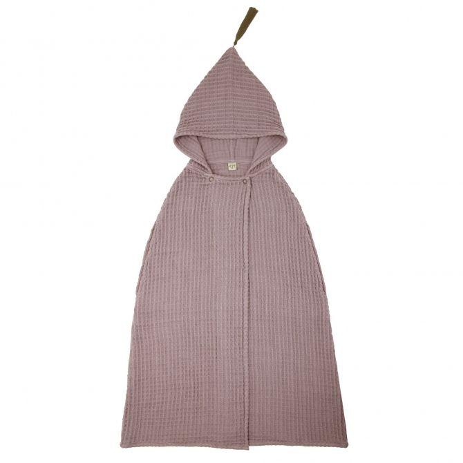 Szlafrok Poncho Towel GW zgaszony róż - Numero 74