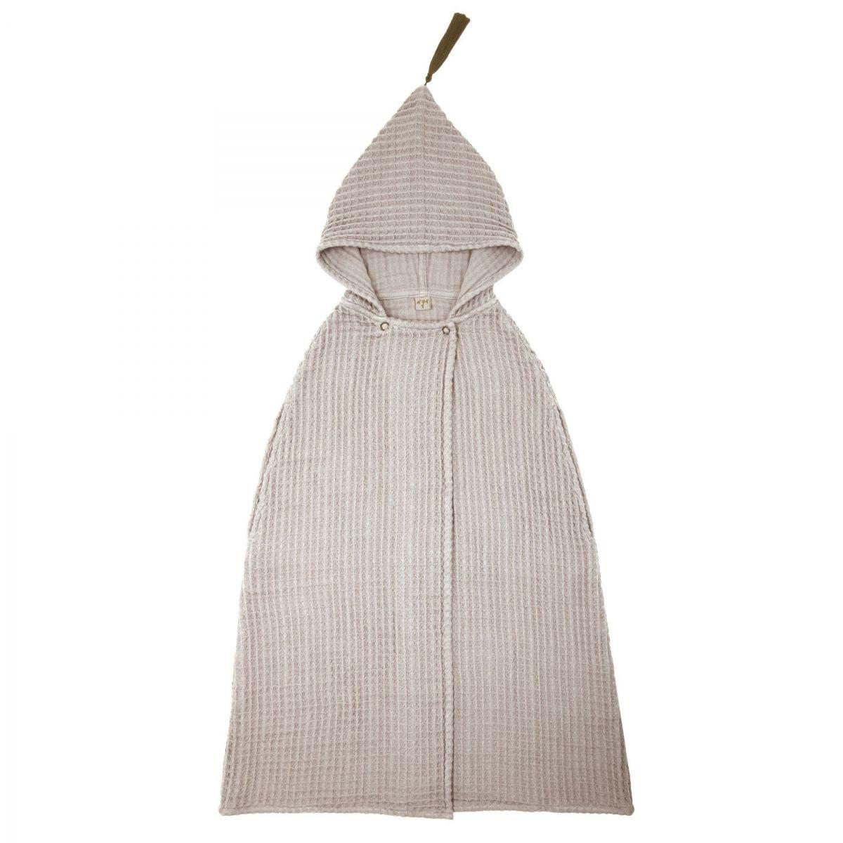 Numero 74 - Szlafrok Poncho Towel GW pudrowy - 1