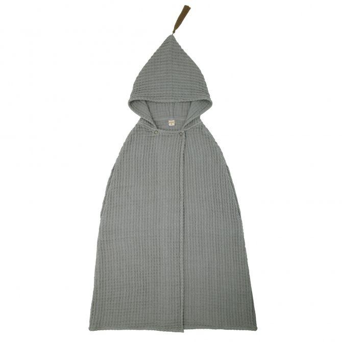 Numero 74 Poncho Towel GW silver grey