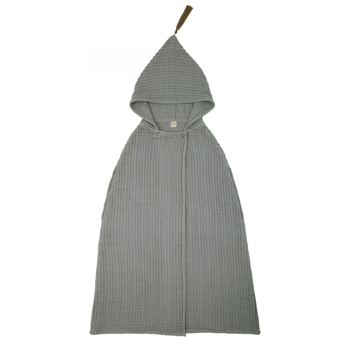 Numero 74 - Poncho Towel GW silver grey - 1