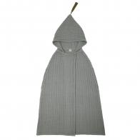 Szlafrok Poncho Towel GW srebrnoszary