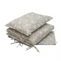 Duvet Cover Set Josephine silver grey