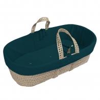 Koszyk Mojżeszowy dla dziecka ciemny morski