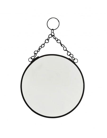 Мадам Штольц - Зеркало круглое черное маленькое - 2