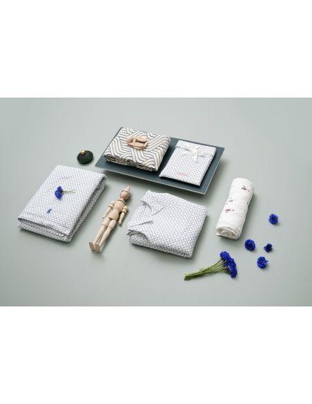 Garbo & Friends Zestaw pościeli Cupola Blue Baby BS SE biały