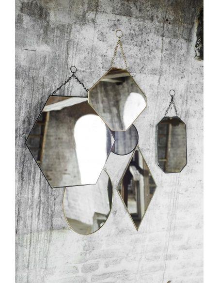 Мадам Штольц - Зеркало круглое черное маленькое - 1