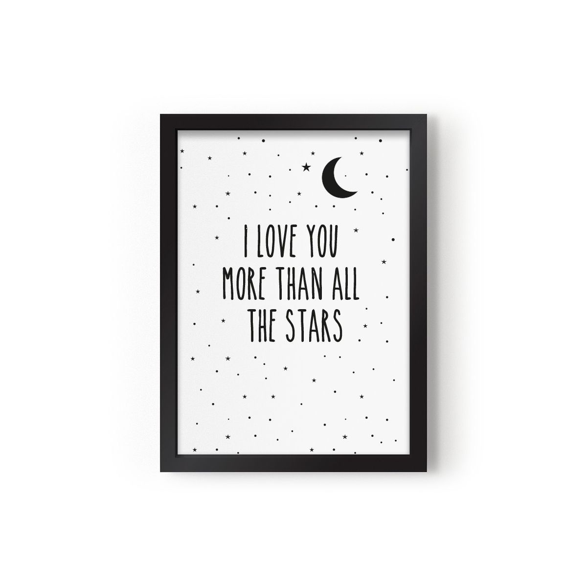 Plakat I Love You More Than All The Stars - Eef Lillemor